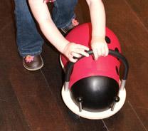 Pushing the Wheely Bug