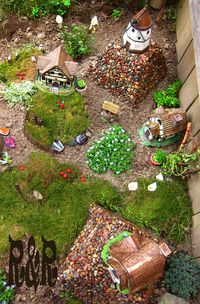 Aerial View of Fairy Village from P&H