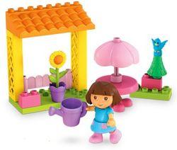 Dora Garden Mega Bloks