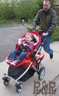 Running with the B Ready Britax