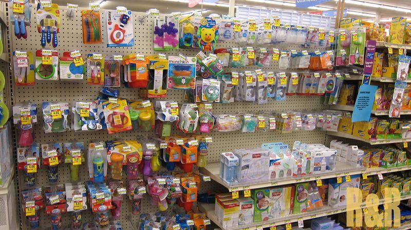 Albertsons baby aisle