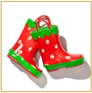 Lazoo Strawberry boots