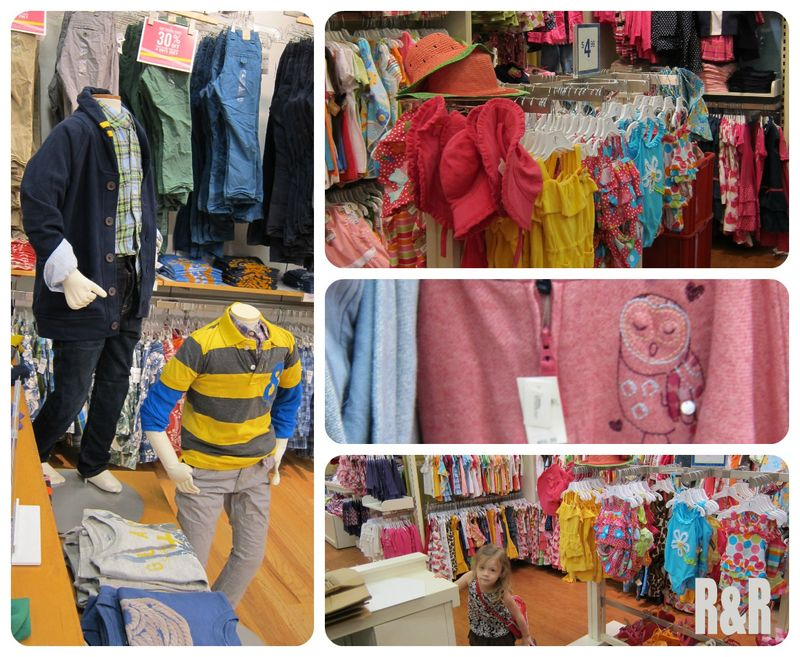 Kids clothing Northgate Mall