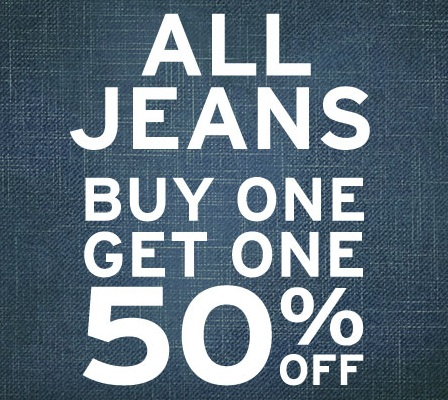 Jeans Buy One Get One Free