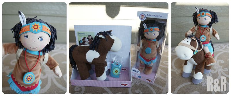 HABA doll and horse