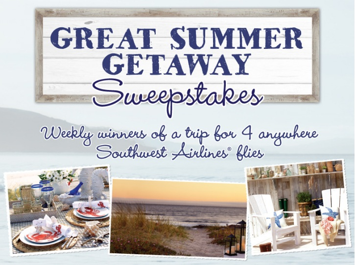 Great Summer Getaway Sweepstakes