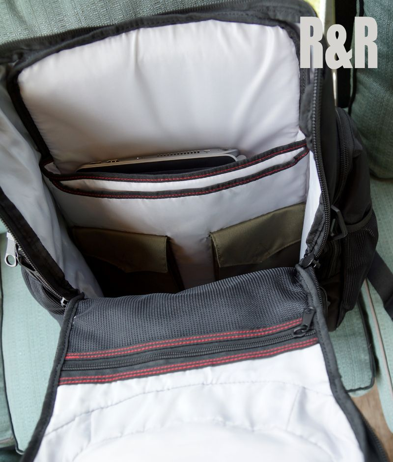 Open Targus Backpack