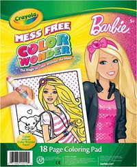 Crayola Color Wonder Coloring Pad Barbie