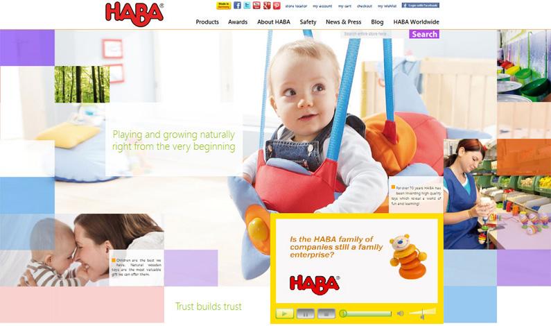 HABAusa.com_Home_page