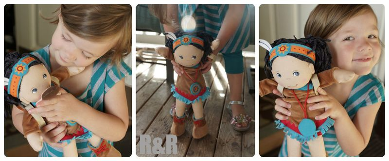 HABA doll collage