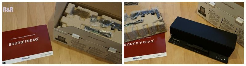 Soundfreaq out of the package