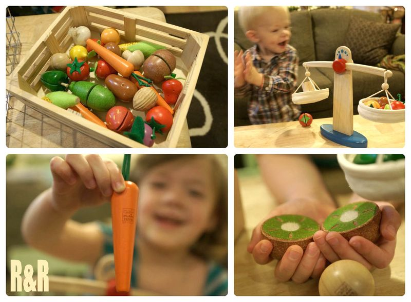PlanToys Wooden Foods