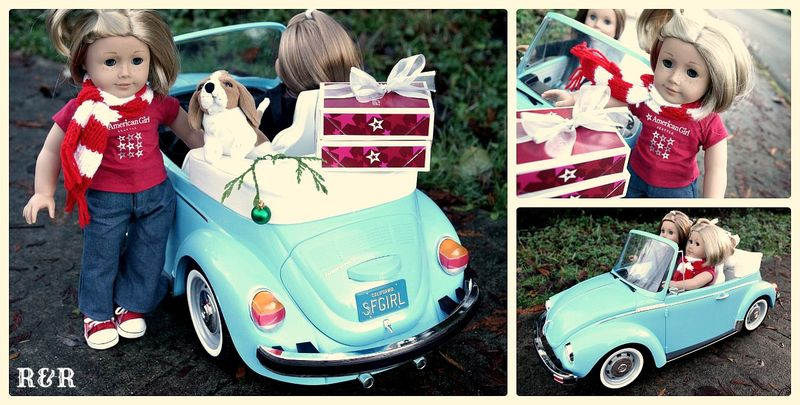 American Girl VW Beetle