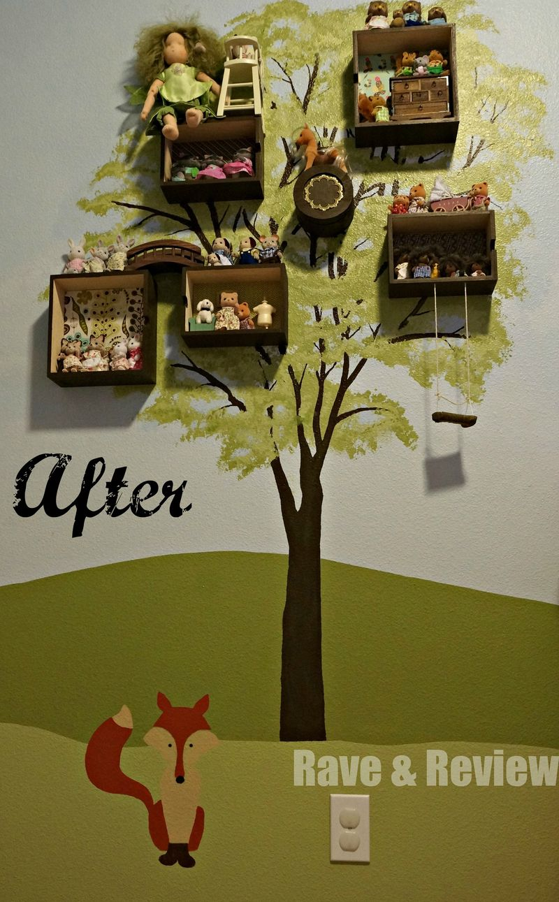 After Fox in Wall Mural
