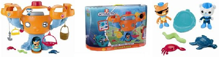 Octopod Playset Pictures