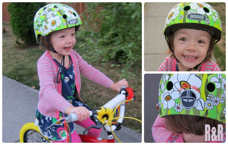 Nutcase girl helmet