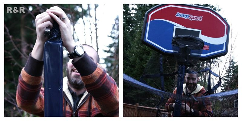 Installing the JumpSport Basketball Hoop