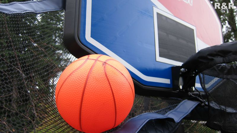 Basketball Hoop with side nets