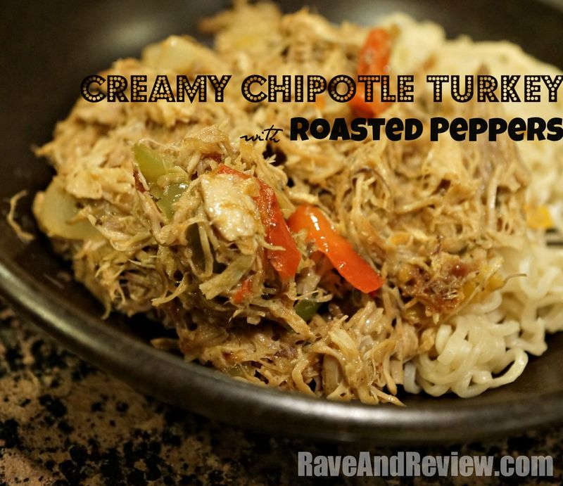 Creamy Chipotle Turkey with Peppers