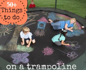 50 things to do on a trampoline