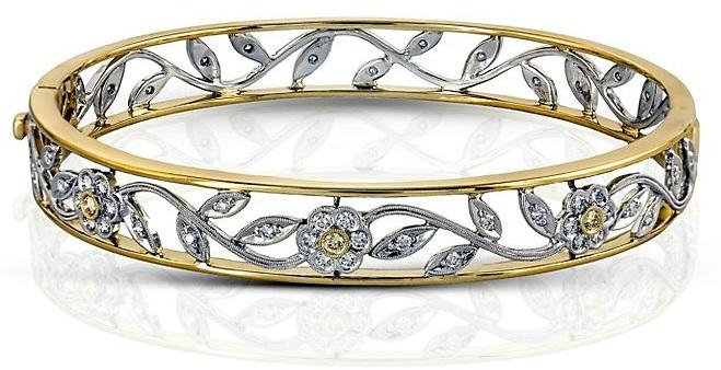 Simon G Floral Bracelet