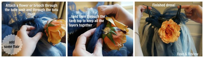 Attaching the Flower pin