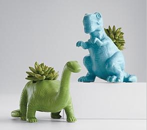 Red Envelope Dino Planter