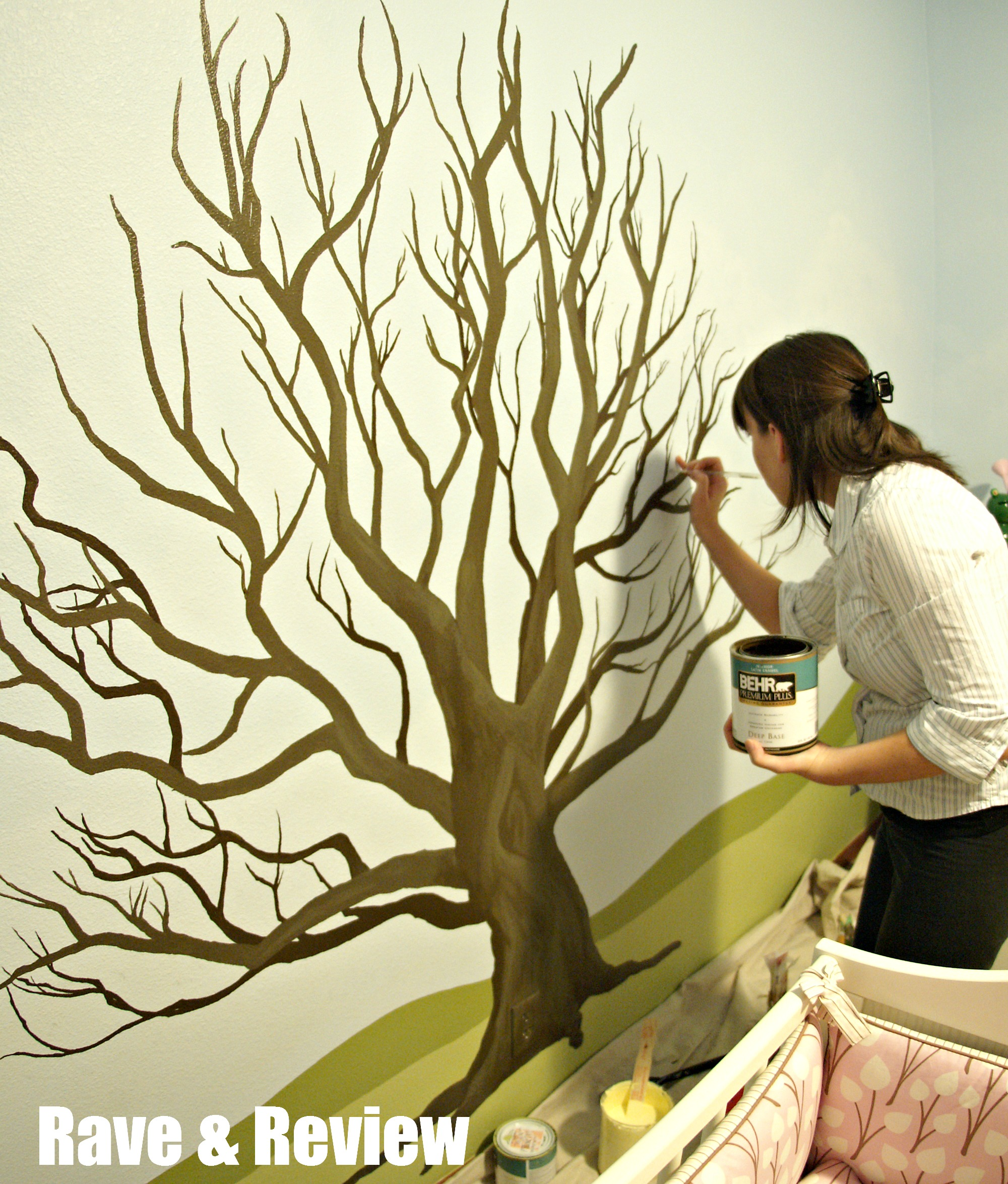 rave and review lifestyle travel and shopping blog from seattle painting the tree mural