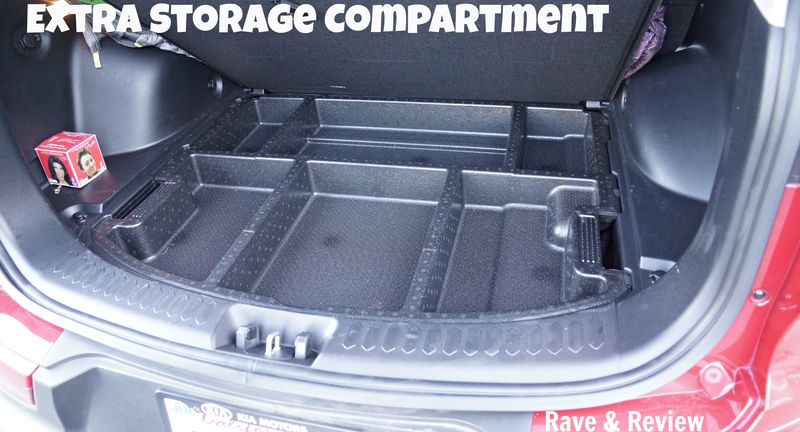 Extra storage compartment