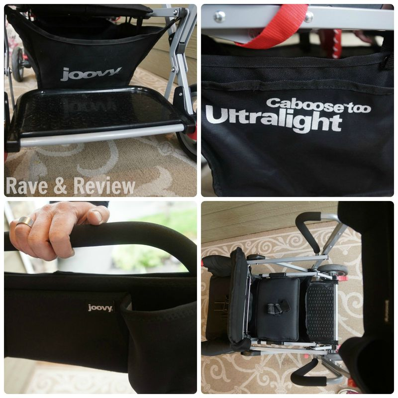 Joovy Caboose Too Ultralight collage