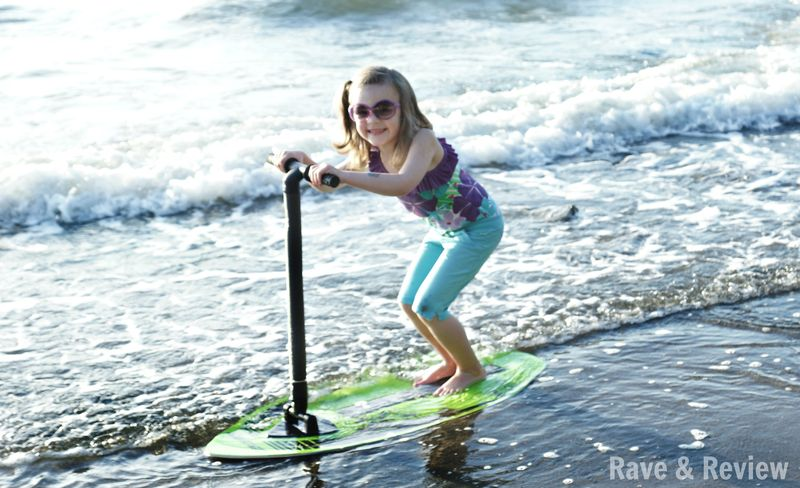 Riding the SurfSkimmer