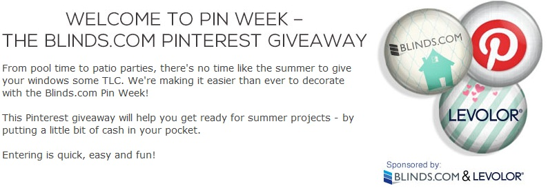 Blinds.com Pinterest Contest