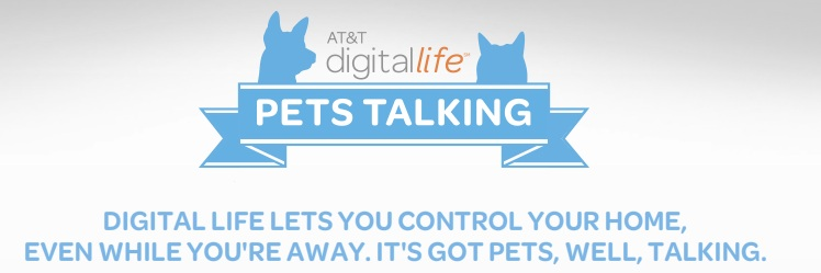 AT&T Digital Life Pets Talking