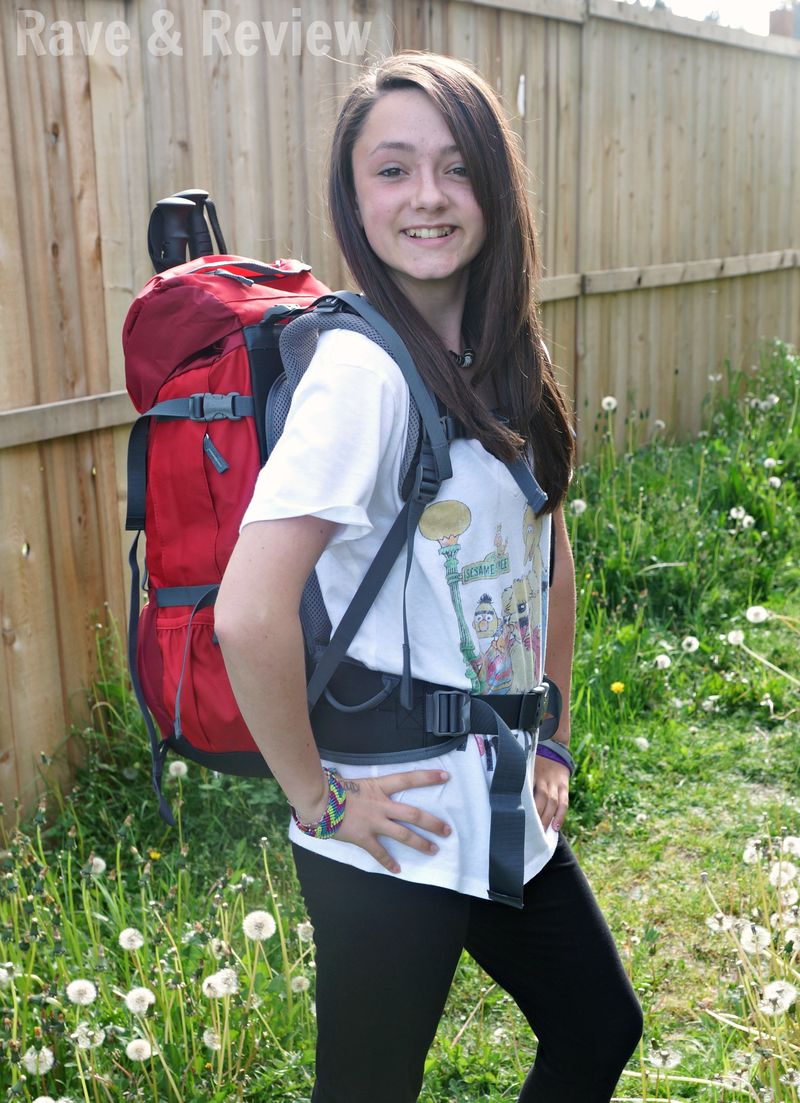 Teen in Deuter Fox 30