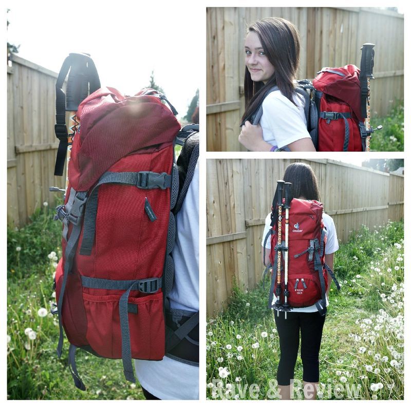 Deuter Fox 30 on teen