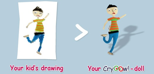 Cryoow Drawing to Doll