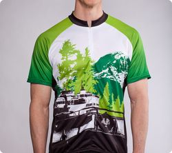Pacific_Northwest_Cycling_Jersey_-_Mt_Rainier_and_Ferry_-_Mens_Green_-_front_grande