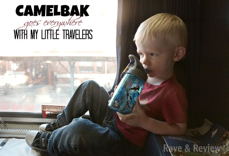 Camelbak goes everywhere