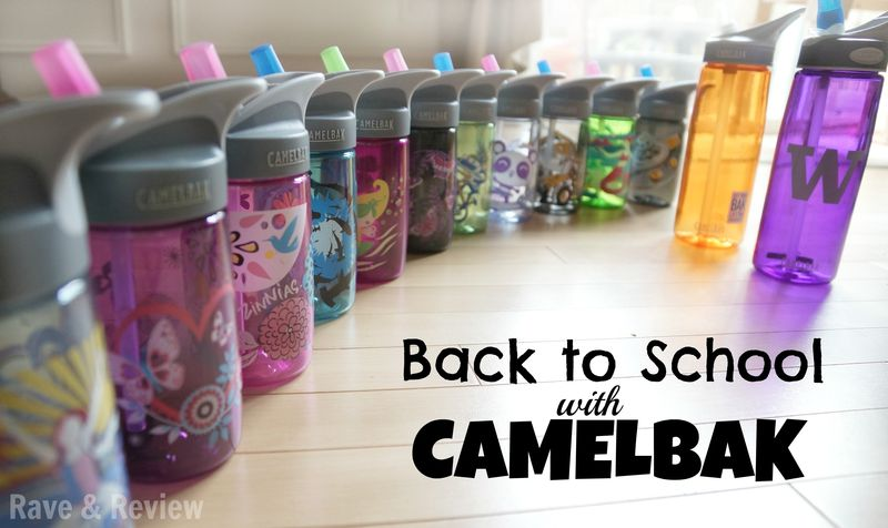 Back to school with camelbak
