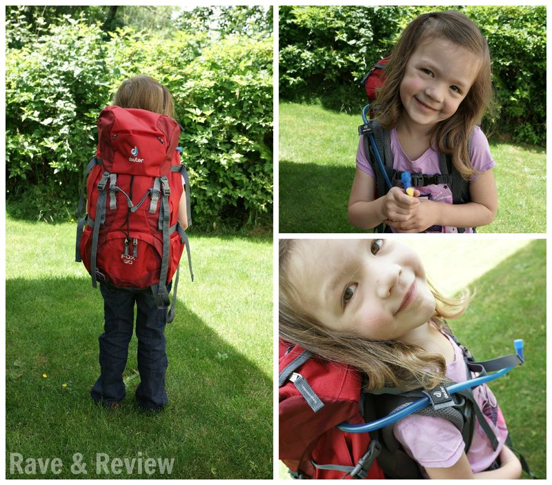 Little kid packpack from deuter