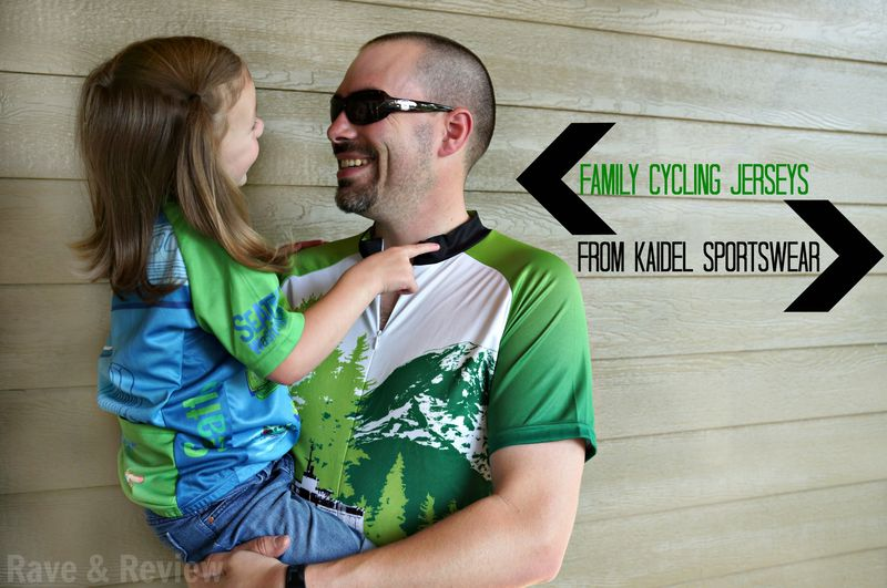 Family cycling jerseys from Kaidel