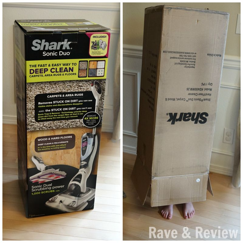 Shark Sonic Duo in box