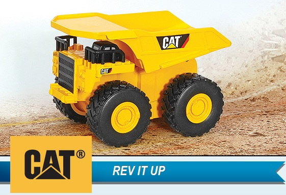 CAT Rev It Up Dump Truck