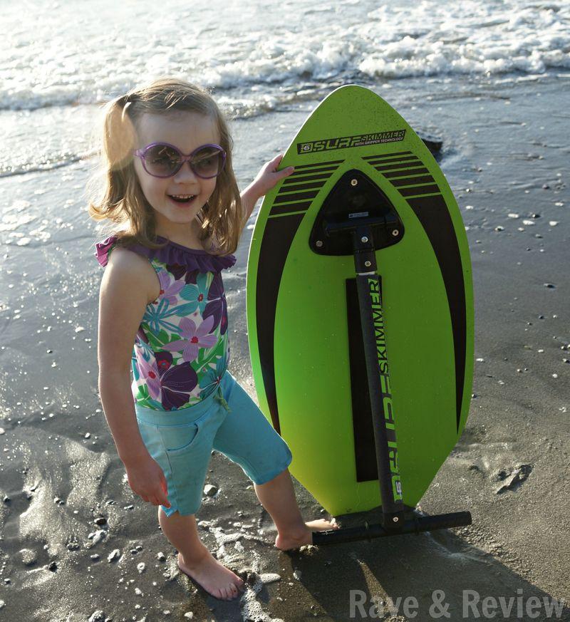 Standing next to SurfSkimmer