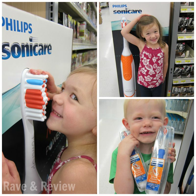 Fun with Sonicare Toothbrushes