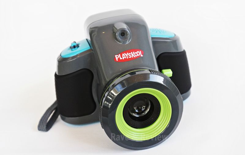 Playskool camera outdoors