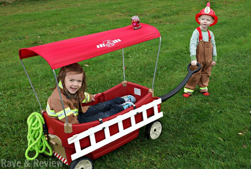 Step2 Wagon as fire truck