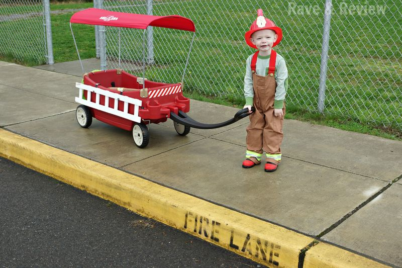 Fire wagon on the fire lane