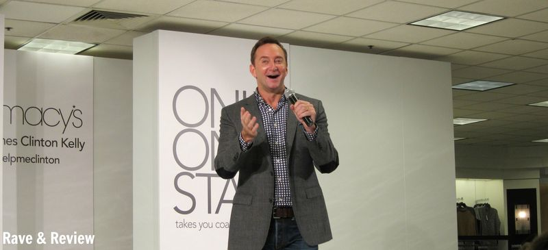 Clinton Kelly at Macys