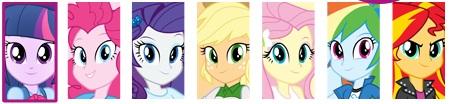 Equestria Girls logos